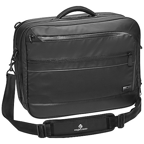 Entertainment Free Shipping. Eagle Creek Dane Flashpoint DECENT FEATURES of the Eagle Creek Dane Flashpoint Bi-Tech material and zippers are both durable and weather resistant Three-way carry: Padded concealable daypack straps, removable shoulder strap and padded grab handle Checkpoint Friendly laptop compartment with butterfly-style opening sized to fit most 17in. laptops Smart Travel Security organization with Secure-Zip toggle closure Interior mobile phone and electronics pockets Zippered mesh pocket Key fob Pen slots Two-way lockable zippers on main and laptop compartments Two interior pockets for electronic chargers/cords Front zippered pocket Back slip panel for stacking on wheeled luggage Reflective accents for dusk and nighttime visibility The SPECS Capacity: 1280 cubic inches / 21 liter Weight: 2 lbs 12 oz / 1.3 kg Dimension: 17 x 12.5 x 6in. / 43 x 32 x 15 cm Material: 900D Bi-Tech - $179.95