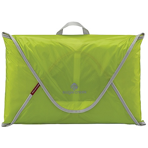 Entertainment On Sale. Eagle Creek Pack-It Specter Folder 18 DECENT FEATURES of the Eagle Creek Pack-It Specter Folder 18 Allows you to take more clothes in less space Ultra lightweight silnylon ripstop allows for visibility of contents Minimizes wrinkles Folding instruction board included Quick-grab handle Fits in a carry-on sized bag Water-resistant and anti-staining properties The SPECS Capacity: Holds 8-12 shirts and pants Weight: 8 oz / 254 g Dimension: 18 x 12in. / 42 x 30 cm Silnylon Ripstop - $25.50