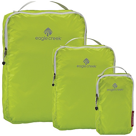 Entertainment Eagle Creek Pack-It Specter Cube Set DECENT FEATURES of the Eagle Creek Pack-It Specter Cube Set Pack-It Specter Quarter Cube Pack-It Specter Half Cube Pack-It Specter Cube The SPECS Silnylon Ripstop - $37.95