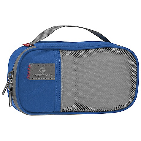 Entertainment On Sale. Eagle Creek Pack-It Quarter Cube DECENT FEATURES of the Eagle Creek Pack-It Quarter Cube Great for sweaters, fleeces, t-shirts, pants, shorts, socks, ties, belts, electronics chargers etc. Mesh top for visibility and breathability Quick-grab handle Two-way zippered opening The SPECS Capacity: 75 cubic inches / 1.2 liter Weight: 2 oz / 57 g Dimension: 7.5 x 4.5 x 2.5in. / 19 x 11 x 6 cm 300D Poly Micro-Weave - $6.38