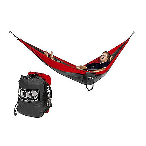 Camp and Hike Free Shipping. Eagles Nest SingleNest Hammock FEATURES of the SingleNest Hammock by Eagles Nest High Strength Breathable Woven Nylon Super Strong Nautical Grade Line High Grade Nylon Triple Interlocking Stiching Color combinations may be inverted from what is pictured SPECIFICATIONS: Dimensions: 4' 7in. x 9' 10in. Weight: 18oz - $59.95