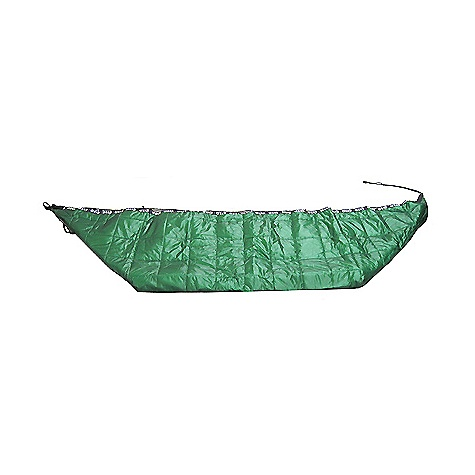 Camp and Hike Free Shipping. Eagles Nest Ember Underquilt FEATURES of the Ember Underquilt by Eagle Nest Universal fit make the Ember compatible with any backpacking/camping style hammock Insulates beneath you and your sides where a sleeping bag is ineffective Provides a barrier from the wind Silnylon stuff sack is included Edge closure system allows you to close the underquilt around you SPECIFICATIONS: Silnylon Ripstop Shell Hi-Loft Synthetic Insulation 70D Ripstop Nylon Inner Weight: 2lb 3oz / 990g Dimensionx: 12in. x 14in. x 5in. (stuffed) - $174.95