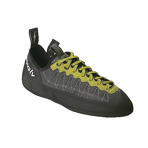 Climbing Free Shipping. Evolv Men's Defy Lace Climbing Shoe DECENT FEATURES of the Evolv Men's Defy Lace Climbing Shoe Adjustability and comfort of lace closure system A leather footbed for increased tactile connection and moisture wicking Plush, bedroom slipper feel and comfort Soft and sensitive feel Perforated synthetic upper The SPECS Profile: Asymmetrical Upper: Synthetic (perforated Synthratek upper) Lining: Nylon, leather footbed Midsole: MX-P: 1mm sensitive half-length Sole: 4.2mm TRAX(R) high friction rubber Rand: VTR rand (thicker front toe area) Weight: 9.1 oz - $88.95