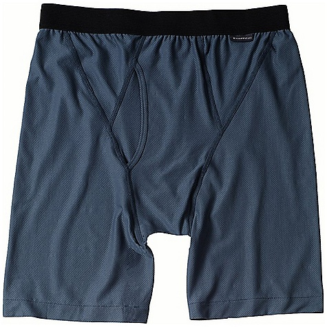 On Sale. Ex Officio Men's Give-N-Go Boxer Brief The SPECS Form fit Give-N-Go Stretch 94% Nylon 6% Lycra Spandex - $19.99