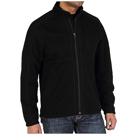 On Sale. Free Shipping. Ex Officio Men's Alpental Jacket DECENT FEATURES of the Ex Officio Men's Alpental Jacket Performance blend that's thermal and quick drying so you always feel good High warmth without the bulk Full zip front with Nycott fabric zipper pull Security zip pockets for your peace of mind Spandex binding at cuff and bottom The SPECS Thermal Ridgeline Fleece 100% Polyester 11 oz/sq yd - $57.99
