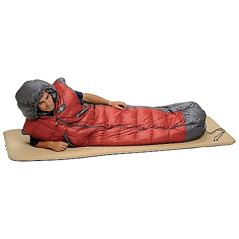 Camp and Hike Free Shipping. Exped Dreamwalker 650 Sleeping Bag DECENT FEATURES of the Exped Dreamwalker 650 Sleeping Bag 840 fill Polish Goose Down Use as sleeping bag or blanket, center zip Worn parka style via zippered arm holes and drawcord adjustable foot Insulated hand-warming pockets The SPECS EN Lower: Men's: 27deg F / -3deg C EN Comfort: Women's: 36deg F / 2deg C Insulation: 840 Down The SPECS for Medium Width Shoulder-Foot: 29.5-25.6in. / 75-65 cm Length: 86.6in. / 220 cm Average Weight Bag Only: 38 oz / 1080 g Packed Size: 12.6 x 8.7in. / 32 x 22 cm Average Fill Weight: 19 oz / 540 g The SPECS for Large Width Shoulder-Foot: 35.4-33.5in. / 90-85 cm Length: 102.4in. / 260 cm Average Weight Bag Only: 45.5 oz / 1290 g Packed Size: 13.4 x 8.7in. / 34 x 22 cm Average Fill Weight: 21.7 oz / 615 g - $518.95