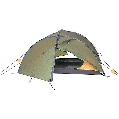 Camp and Hike Free Shipping. Exped Venus II Tent DECENT FEATURES of the Exped Venus II Tent Extremely fast and easy set-up Exoskeleton designs (poles in fly) for superior strength PU coated ripstop polyester flies eliminate in.saggingin. in wet weather Inner tent stays dry during wet weather set-up and teardown High guying strength and aerodynamic surface (e.g. flat pole sleeves) Large (and in some cases HUGE) vestibules Unique Exped detailing throughout Tough 10,000 mm water column floors Exped's in.Ridge Tunnelin. design; two poles + ridge pole Exoskeleton design, aerodynamic flat pole sleeves Two vestibules, two doors Free standing The SPECS Capacity: 2 person Inner Tent Dimension: 88.6 x 49.2in. / 225 x 125 cm Interior Area: 30.1 square feet / 2.8 square meter Average Minimum Weight: (fly, canopy, poles): 5.9 lbs / 2.7 kg Average Packaged Weight: 6.8 lbs / 3.1 kg Vestibule Area: 24.75 square feet / 2.3 square meter Interior Peak Height: 41.3in. / 105 cm Packed Size: 16.5 x 5.9in. / 42 x 15 cm Rainfly: 40 D ripstop-polyester PU coated Factory seam taped Canopy: Ripstop polyester No-See-Um mosquito mesh Floor: 70D Taffeta nylon (10,000 mm water column) Poles: DAC Featherlite NS L 9 mm and 10.25 TH72M - $578.95