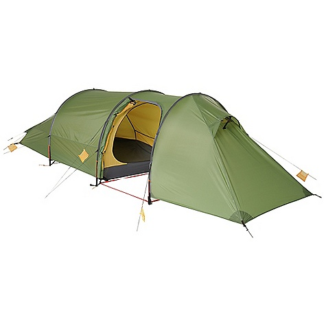 Camp and Hike Free Shipping. Exped Andromeda II Tent DECENT FEATURES of the Exped Andromeda II Tent Extremely fast and easy set-up Exoskeleton designs (poles in fly) for superior strength PU coated ripstop polyester flies eliminate in.saggingin. in wet weather Inner tent stays dry during wet weather set-up and teardown High guying strength and aerodynamic surface (e.g. flat pole sleeves) Large (and in some cases HUGE) vestibules Unique Exped detailing throughout Tough 10,000 mm water column floors Tunnel style balances strength, volume and light weight Exoskeleton design, aerodynamic flat pole sleeves Very large pole supported side-entry vestibule, one door Mesh organizer mounted in vestibule The SPECS Capacity: 2 person Inner Tent Dimension: 88.6 x 51.2in. / 225 x 130 cm Interior Area: 31.2 square feet / 2.9 square meter Average Minimum Weight: (fly, canopy, poles): 7.5 lbs / 3.4 kg Average Packaged Weight: 8.5 lbs / 3.85 kg Vestibule Area: 30.2 square feet / 2.8 square meter Interior Peak Height: 39.4in. / 100 cm Packed Size: 416.5 x 7.9in. / 2 x 20 cm Rainfly: 40 D ripstop-polyester PU coated Factory seam taped Canopy: Ripstop polyester No-See-Um mosquito mesh Floor: 70D Taffeta nylon 10,000 mm water column Poles: DAC Featherlite NS L 9 mm TH72M - $688.95