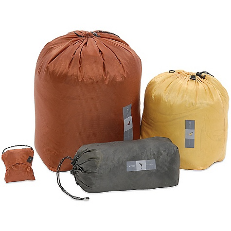 Camp and Hike Exped Pack Sack SPECIFICATIONS for Small: Size: 30 x 10 x 10 cm Weight: 15 g Material: DWR treated lightweight ripstop nylon (36g/m2) SPECIFICATIONS for Medium: Size: 30 x 20 x 15 cm Weight: 20 g Material: DWR treated lightweight ripstop nylon (36g/m2) SPECIFICATIONS for Large: Size: 45 x 25 x 20 cm Weight: 30 g Material: DWR treated lightweight ripstop nylon (36g/m2) - $12.95