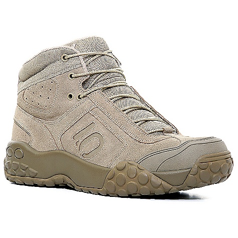 Camp and Hike Free Shipping. Five Ten Men's Impact Enforcer High Shoe DECENT FEATURES of the Five Ten Men's Impact Enforcer High Shoe Upper: Split Grain Leather Closure: Lace Outsole: Stealth Phantom Tan - $134.95