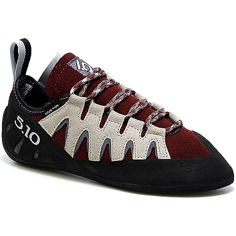 Climbing Free Shipping. Five Ten Women's Siren DECENT FEATURES of the Five Ten Women's Siren Climbing Shoe Upper: Perflex Closure: Lace Outsole: Stealth Onyxx The SPECS Weight: 6.4oz/181.8g - $144.95