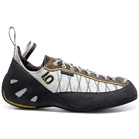 Climbing On Sale. Free Shipping. Five Ten Men's Hueco Shoe DECENT FEATURES of the Five Ten Men's Hueco Shoe Upper: Split Grain Leather Closure: Lace Outsole: Stealth Onyxx - $103.99