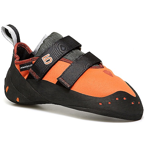 Climbing Free Shipping. Five Ten Men's Anasazi Arrowhead Shoe DECENT FEATURES of the Five Ten Men's Anasazi Arrowhead Shoe Upper: Cowdura Closure: Velcro Outsole: Stealth Onyxx - $159.95