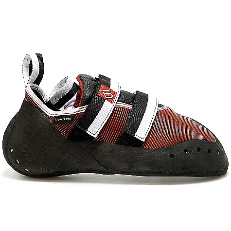 Climbing On Sale. Free Shipping. Five Ten Men's Blackwing Shoe DECENT FEATURES of the Five Ten Men's Blackwing Shoe Upper: Cowdura / 3-D Polytechnic Closure: Velcro Outsole: Stealth Mystique - $114.99