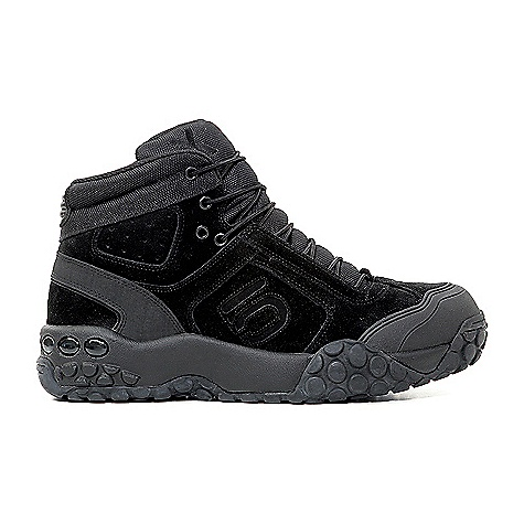 Camp and Hike Free Shipping. Five Ten Men's Urban Enforcer High Shoe The Men's Urban Enforcer High Shoe by Five Ten. Designed for the needs of bike police, special forces, military personnel and anyone who wants a high-friction non-marking, silent-tread shoe. Laces are made of ultra dependable parachute cord. SPECIFICATIONS for Men's Urban Enforcer High Shoe by Five Ten Weight: (Size-9) 25.6oz/727.04g - $134.95