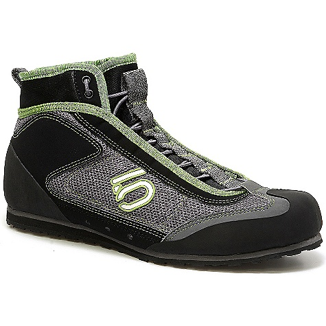Free Shipping. Five Ten Men's Water Tennie Shoe DECENT FEATURES of the Five Ten Men's Water Tennie Shoe Designed for adventure racers, triathletes, canyoneers and white water enthusiasts Made with a synthetic mesh shoe with excellent arch support, drainage holes, and a protective rubber toe cap The midsole is a dual-desity EVA for comfort, cush and durablity The quick-drying Neoprene upper has an inner gaiter, plus a quick-lace system with a secure lock and protective barrel trim. - $129.95
