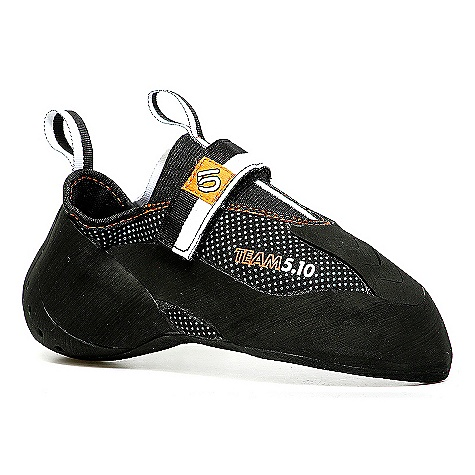 Climbing Free Shipping. Five Ten Men's Team 5.10 Shoe DECENT FEATURES of the Five Ten Men's Team 5.10 Shoe Tworld's top climbers helped to design the Team Shoe Ultra-thin, ultra-durable 3.5 mm Stealth(R) Mystique rubber outsoles. Combines surgeon-like precision, unprecedented sensitivity and a perfect fit Designed for cutting-edge sport routes, bouldering, and competitions Excels at the most technical footwork needed to establish the most difficult climbs in the world - $159.95