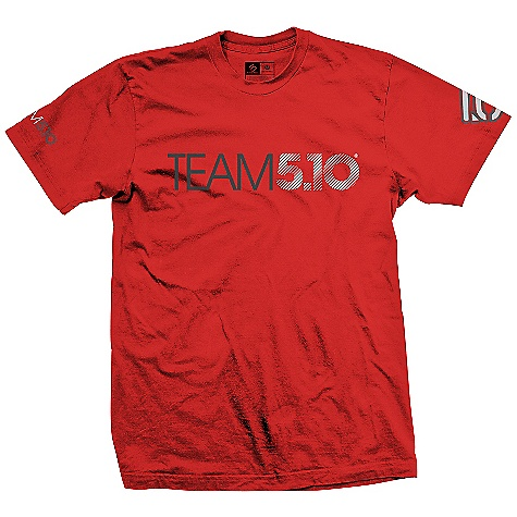 Five Ten Men's Team 5.10 Shirt DECENT FEATURES of the Five Ten Men's Team 5.10 Shirt Handsome graphics on the front and back 100% cotton The SPECS Weight: (Size-9) 7.2oz/204.12g - $29.95