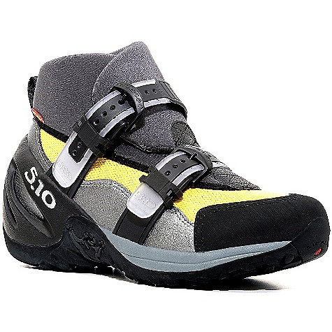 Camp and Hike Free Shipping. Five Ten Men's Canyoneer II Shoe DECENT FEATURES of the Five Ten Men's Canyoneer II Shoe Upper: Neoprene / Mesh Closure: Buckle Outsole: Stealth C4 / S1 - $154.95