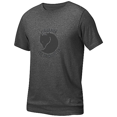 On Sale. Fjallraven Men's Specialisten T-Shirt DECENT FEATURES of the Fjallraven Men's Specialisten T-Shirt Short sleeve round-neck T-shirt in organic cotton The SPECS Fabric: 100% organic cotton - $30.99