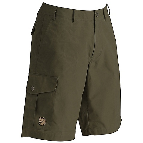 Free Shipping. Fjallraven Men's Karl Short DECENT FEATURES of the Fjallraven Men's Karl Short Shorts in G-1000 Silent Low waist and regular fit Map-and multi tool pockets Leather Logo The SPECS Fit/Waist: Regular Fit/Low Waist Fabric: G-1000 Silent: 65% polyester 35% cotton Brushed - $74.95