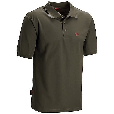 On Sale. Free Shipping. Fjallraven Men's Crowley Pique Shirt DECENT FEATURES of the Fjallraven Men's Crowley Pique Shirt Pique knitted shirt in recycled polyester and solution dyed fabric Moisture transporting and quick drying Straight cut with slits on the sides The SPECS Fabric: 100% recycled polyester - $79.00
