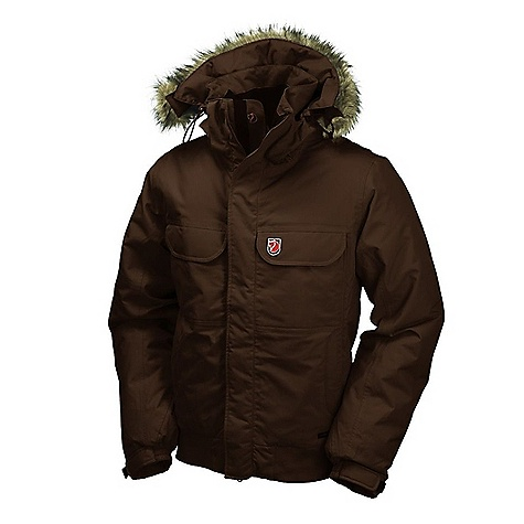 On Sale. Free Shipping. Fjallraven Men's Cantwell Jacket DECENT FEATURES of the Fjallraven Men's Cantwell Jacket A warm, mid-length jacket Best worn for low-intensity activities when the weather demands extra insulation Wind and water repellent outer fabric The SPECS Fabrics: 100% polyamide with Hydratic Filling: Supreme Micro Loft Lining: 100% nylon, 100% polyester fleece inside hood, collar and pockets. Water column (WC): 10.000 mm Breathability (MP): 5.000 g/m2/24h Weight: 3.41 lbs - $358.99