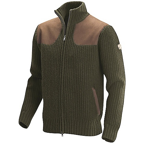 Entertainment Free Shipping. Fjallraven Men's Grouse Sweater DECENT FEATURES of the Fjallraven Men's Grouse Sweater Ribbed lambs wool sweater, warm and comfort High collar with 2-way zipper at front Suede reinforcement at yoke and pocket details The SPECS Fit: Comfort Fabric: 100% lambs wool 65% polyester, 35% polyurethanes - $329.95