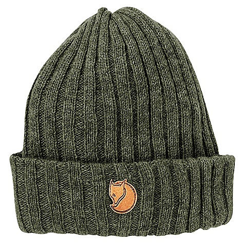 Entertainment Fjallraven Byron Hat DECENT FEATURES of the Fjallraven Byron Hat Double-knitted hat in wool Folded at the bottom Leather details The SPECS 100% Shetland wool - $39.95