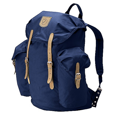 Camp and Hike Free Shipping. Fjallraven Vintage 13 Pack DECENT FEATURES of the Fjallraven Vintage 13 Pack A retro top-loading design Modern carrying back-panel of mesh Keeps the load stable and your back comfortably dry Made from hardwearing waxed G-1000 fabric with real leather straps - $94.95