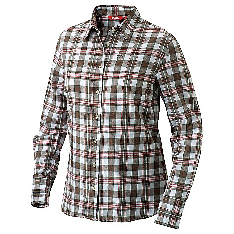 Free Shipping. Fjallraven Women's Gran Shirt DECENT FEATURES of the Fjallraven Women's Gran Shirt Long sleeved flannel trekking shirt in comfort A soft touch of brushed cotton Shirt with the soft feel of cotton flannel The SPECS Fit: Comfort Fabric: 100% cotton flannel - $95.95