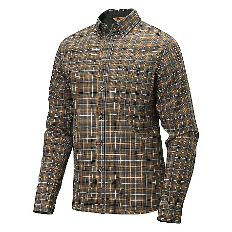 On Sale. Free Shipping. Fjallraven Men's Varg Shirt DECENT FEATURES of the Fjallraven Men's Varg Shirt Light cotton flannel shirt Button down collar 1 open chest pocket 1 security pocket in side seam The sleeves can be rolled up with a button strap The SPECS Fit: Slim 100% cotton flannel Lining: 100% cotton - $99.00