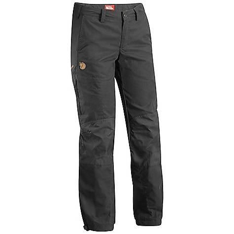 Free Shipping. Fjallraven Women's Nilla Trousers Fixed DECENT FEATURES of the Fjallraven Women's Nilla Trousers Fixed Performance cut trousers in G1000 silent and reinforced with G1000 original 2 hand pockets front, 1 leg pocket Adjustment in legs Leather Logo The SPECS Fit/Waist: Regular Fit/Mid Waist Fabric: G-1000 Silent: 65% polyester 35% cotton Brushed Leg Ending: Fixed Length Leg Type: Full Leg Weight: 425 g - $139.95