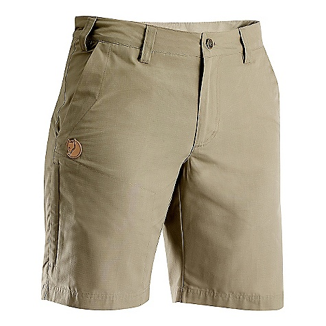 On Sale. Free Shipping. Fjallraven Women's Stina Short DECENT FEATURES of the Fjallraven Women's Stina Short Travel skorts in quick drying MT fabric Smart travel garment when you want the flexibility of a pair of shorts and the feeling of a skirt 1 leg pocket with flap, 2 back pockets and 1 safety pocket on right side Leather Logo The SPECS Fit/Waist: Comfort Fit/Mid Waist Fabric: MT: 73% polyamide 27% cotton UPF 50+ - $59.00