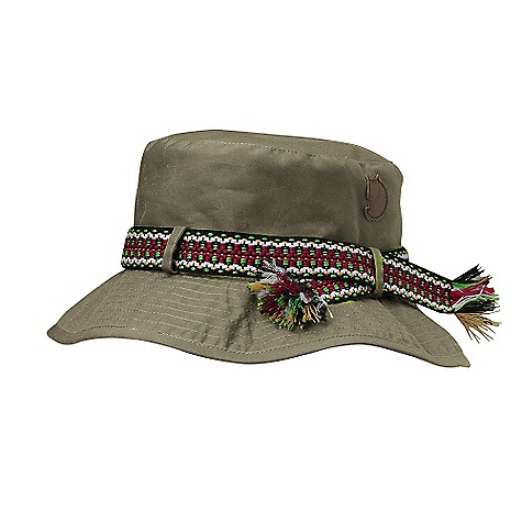 Flyfishing Fjallraven Greenland Hat DECENT FEATURES of the Fjallraven Greenland Hat Fly-fishing hat with colorful band Leather details The SPECS G-1000 Original: 65% polyester, 35% cotton UPF: 50+ - $34.95