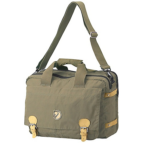 Entertainment Free Shipping. Fjallraven Briefcase DECENT FEATURES of the Fjallraven Briefcase Classic briefcase made in hard wearing G-1000 Padded laptop compartment for up to 15-inch laptops Main compartment with organizing panel Front flap covers multiple zippered, half covered and open pockets 50mm adjustable and detachable shoulder strap and anti-slip pad Leather details The SPECS Weight: 800 g Webbing: Polyester Dimension: ( H x W x D): 28 x 40 x 19 cm Volume: 20 liter Laptop: Sleeve Up To: 15in. G-1000 Original: 65% polyester, 35% cotton - $109.95
