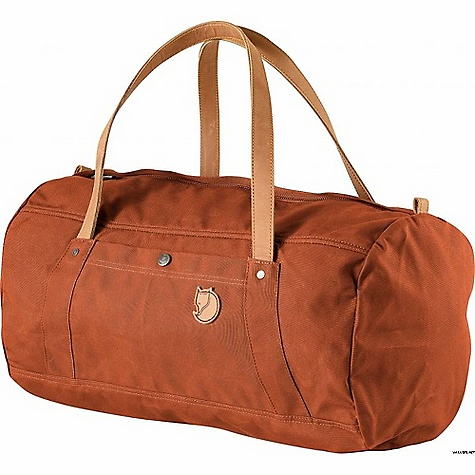 Entertainment Free Shipping. Fjallraven Duffel No. 4 30L DECENT FEATURES of the Fjallraven Duffel No. 4 30L Made in a heavier version of our waxed G-1000 fabric Handles are dimensioned for carry in hand, on shoulder or even on back Zippered main compartment with easy-to-grab metal puller Double layers in bottom One zippered and one buttoned pocket on outside Internal safety pocket Straps and logo in leather The SPECS Webbing: Polyamide Dimension: (H x W x D): 28 x 48 x 28 cm Volume: 30 liter Zipper: YKK Weight: 660 g Fabric: G-1000 Heavy-Duty: 65% polyester, 35% cotton - $149.95