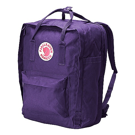 Camp and Hike Free Shipping. Fjallraven Kanken 13 Backpack DECENT FEATURES of the Fjallraven Kanken 13 Backpack Laptop version of our best-selling Kanken daypack A padded compartment protects your 13in.-15in.-17in. laptop These packs also included a removable seat pad, padded shoulder straps, reflector in logo patch and front/side pockets The SPECS Weight: 345 g Dimension: ( H x W x D): 30 x 23 x 16 cm Volume: 18 liter Laptop: Sleeve Up To: 13in. Webbing: Polypropylene - $99.95