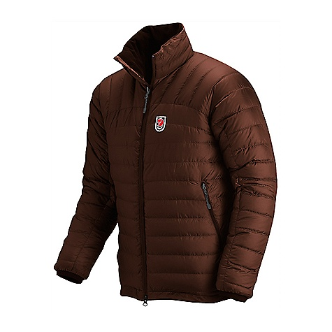 On Sale. Free Shipping. Fjallraven Men's Snow Jacket DECENT FEATURES of the Fjallraven Men's Snow Jacket A thin, attractive down jacket An excellent outer garment for cold autumn days Flexibility allows it to function as a lining under a roomy shell jacket Three pockets and 2-way zipper in the front Narrow channels filled with down make it both attractive and functional The SPECS Fillpower: 700 CUIN Filling weight: 190 g in size M Weight: 446 g in size M Lining: 100% polyamide Consumer Material: Padded (Down) Material: 100% polyamide Filling: 95% goose down, 5% feather - $223.99
