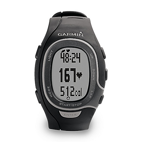Fitness On Sale. Free Shipping. Garmin Men's FR60 HRM The SPECS Unit Dimension: (W x H x D): Men's: 2.2in. x 1.5in. x 0.5in. / 5.6 x 3.8 x 1.3 cm, Women's: 2.0in. x 1.5in. x 0.6in. / 5.2 x 3.8 x 1.4 cm Display Size: (W x H): 0.8in. x 1.1in. / 2.0 x 2.8 cm Display resolution: (W x H): 56 x 31 pixels Weight: Men's: 1.6 oz / 44 g, Women's: 1.4 oz / 41 g Battery: coin cell battery (CR2032) Battery life: 1 year Lap history: 100 laps or up to 20 hours of data Heart rate-based calorie computation Water resistant Heart rate monitor Cadence sensor Foot Pod Automatic sync Garmin Connect compatible Virtual Partner Auto Pause Auto Lap Auto Scroll Pace alert Time/distance alert Interval training Customizable screens Sport Watch Additional Specs: Watch functions include time of day (12/24h), dual time zone, calendar (day/date), daily alarm Garmin Connect and Garmin Training Center are compatible with Windows XP or newer and Intel-based Mac running OS 10.4.11 or later with Safari - $78.99