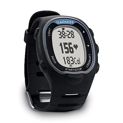 Fitness Free Shipping. Garmin FR70 DECENT FEATURES of the Garmin FR70 Tracks your time, heart rate and calories burned inside or outside, while running, cycling or during other fitness activities Calculates speed and distance when paired with our optional foot pod Includes ANT+ technology, which allows it to connect to other ANT+ compatible devices, such as the included heart rate monitor, optional foot pod or ANT+ compatible fitness equipment and then share data wirelessly with your computer Offers advanced training options, such as workouts, intervals and Virtual Partner, when paired with our optional foot pod Tracks weight, body fat, body water and 6 other measurements when used with the Tanita BC-1000 body composition scale Features 2 time zones, alarms, 20 hrs/100 lap memory, configurable training pages with Auto Scroll, Auto Lap, 5 heart rate zones and alerts Transfers data to your Windows or Mac computer wirelessly when in range. You can then use Garmin Connect to analyze, categorize and share in our online community The SPECS Unit Dimension: (W x H x D): Blue: 1.5in. x 2.2in. x 0.5in. / 3.8 x 5.5 x 1.3 cm, Pink: 1.5in. x 2.0in. x 0.5in. / 3.8 x 5.0 x 1.3 cm Display Size: (W x H): 0.8in. x 1.1in. / 2.0 x 2.8 cm Display resolution: (W x H): 31 x 56 pixels Weight: Blue: 1.6 oz / 45 g, Pink: 1.3 oz / 38 g Battery: coin cell battery (CR2032) Battery life: 1 year Lap history: 100 laps or up to 20 hours of data Heart rate-based calorie computation Shock Resistant Water resistant Heart rate monitor Cadence sensor Foot Pod Automatic sync Garmin Connect compatible Virtual Partner Auto Pause Auto Lap Auto Scroll Pace alert Time/distance alert Interval training Customizable screens Sport Watch Additional Specs: Watch functions include time of day (12/24h), dual time zone, calendar (day/date), daily alarm Garmin Connect and Garmin Training Center are compatible with Windows XP or newer and Intel-based Mac running OS 10.4.11 or later with Safari - $129.95