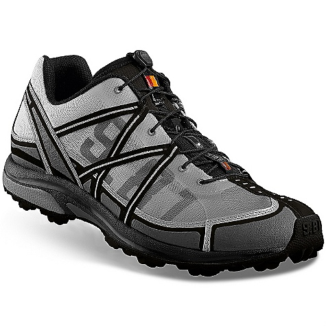Fitness On Sale. Free Shipping. Garmont Men's 9.81 Bolt DL Shoe DECENT FEATURES of the Garmont Men's 9.81 Bolt DL Shoe Multi-density EVA with PU Cradle Firmer cushioning at heel strike Softer EVA at forefoot for sensitivity Firm lateral PU heel cradle for torsional stability Anti-Odor, Anti-Microbial, Breathable 4-structured system blending comfort, shock absorption and compression set resistance Stiffer than the Race due the thinner profile of the midsole Garmont EVA rebounds, cushions and resists compression set Polymer heel insert absorbs heel strike and shock Forefoot insert stabilizes and protects against underfoot impact injuries Additional EVA insert for the additional impact during heel strike Aggressive profile which provides great grip on wet surfaces, grass and mud. Lugs are spaced for self-cleaning Sticky rubber compound balances grip and wear resistance Double Lug pattern and profile are oriented to provide maximum traction and braking Double Lug placement is ergonomic for an anatomic flex The SPECS Upper: Mesh Lining: Synthetic Fabric Sole: Double Lug Component Set: G-Low Weight: 330 grams (1/2 pair size 8.5 US) Applications: Competitive trail running, Adventure racing, Orienteering - $70.99