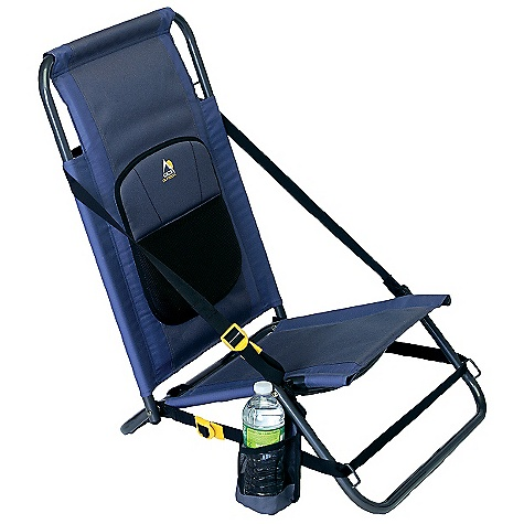 Camp and Hike GCI Outdoor Everywhere Chair DECENT FEATURES of the GCI Outdoor Everywhere Chair Hillside adjustment strap Lumbar support cushion Shoulder strap The SPECS Weight Capacity: 250 lbs Open Size: 20 x 18 x 26in. Seat Height: Front: 9in. Folded Size: 28 x 20 x 3in. Unit Weight: 6 lbs - $34.99