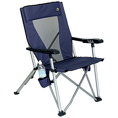 Camp and Hike Free Shipping. GCI Outdoor Unifold Recliner DECENT FEATURES of the GCI Outdoor Unifold Recliner Three-position reclining backrest Molded armrest stem glass holders Carry bag The SPECS Weight Capacity: 250 lbs Open Size: 24 x 30 x 38in. Seat Height: 17in. Folded Size: 44 x 8.5 x 7.5in. Unit Weight: 10.5 lbs - $54.99