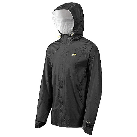 On Sale. Free Shipping. GoLite Men's Kenai Pertex 2.5-Layer Hardshell Jacket DECENT FEATURES of the GoLite Men's Kenai Pertex 2.5-Layer Hardshell Jacket Fully taped seams Shock cord closure on bottom hem External storm flap Waterproof chest and hand pockets Harness-compatible hand pockets 2-way center front zip Waterproof pit zips The SPECS Weight: 10 oz / 275 g Fit: Relaxed Material: 100% Nylon Face (15 Denier), Pertex Polyurethane Membrane with printed 1/2 layer Backer, Hydrostatic: 10000mm, MVTR: 7000 g/m2/day, DWR - $149.99
