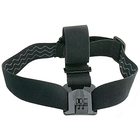 Camp and Hike GoPro Head Strap Camera Mount DECENT FEATURES of the GoPro Head Strap Mount Fully adjustable to fit all sizes, the Head Strap is compatible with all GoPro cameras and great for keeping the footage clear while you shred This product can only be shipped within the United States. Please don't hate us. - $14.95
