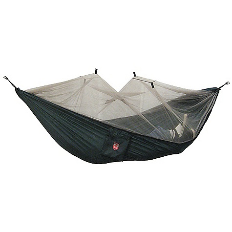 Camp and Hike Free Shipping. Grand Trunk Skeeter Beeter Pro Hammock DECENT FEATURES of the Grand Trunk Skeeter Beeter Pro Hammock Grey No-See-Um Mesh Triple Stitching Double Sided Zipper Net Suspension Kit Included Two Inside Storage Pockets The SPECS Dimension: (L x W): 10'6in. x 5' Weight: 28 oz Capacity: 400 lbs 100% Polyester Nylon Nutical Grade Carabiners - $79.95