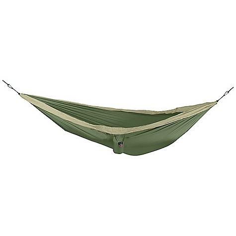 Camp and Hike Features of the Grand Trunk Single Hammock Triple Stitching Mildew Resistant Nautical Grade Carabiner Hanging Kit Included - $59.99