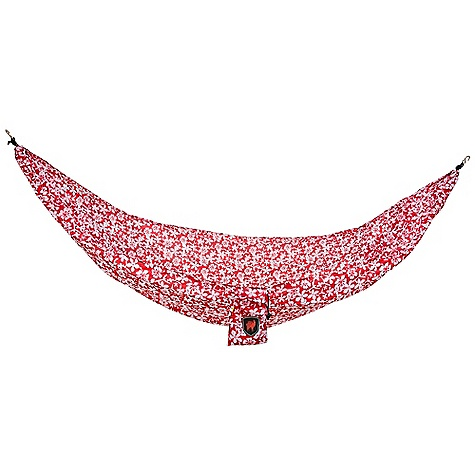 Camp and Hike Grand Trunk Ultralight Hammock DECENT FEATURES of the Grand Trunk Ultralight Hammock Triple Stitching Mildew Resistant S Hooks Hanging Kit Not Included The SPECS Dimension: (L x W): 9'6in. x 4'6in. Weight: 12 oz Capacity: 250 lbs 100% Polyester Taffeta - $29.95