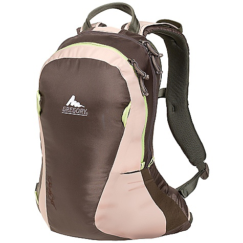 On Sale. Free Shipping. Gregory Women's Trinity 18 Pack DECENT FEATURES of the Gregory Women's Trinity 18 Pack Women's specific fit 3D foam harness for all-day comfort Flexible, molded 3D foam backpanel Offset zipper allows for wide panel opening to main compartment Interior mesh organizer with key clip Second padded compartment with pockets insulates hydration reservoir or can fit a 13in. laptop Hydration port and sleeve Waistbelt with pocket to tuck away when not in use Side mesh pockets Removable discrete pocket 420D fabric The SPECS Volume: 1098 cubic inches / 18 L Weight: 1 lb 9 oz / 700 g Click to download some super information on how to properly Fit a Gregory Pack . - $59.99